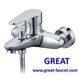 Faucet de bronze do banheiro H59 no projeto novo e moderno