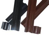 PVC Cable Riser Guard en Brown et dans Black