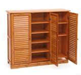 Gabinete da sapata/arca de madeira da sapata para a mobília
