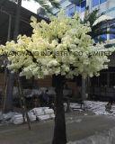Albero artificiale bianco di Sakura del fiore di ciliegia di vendita della fabbrica