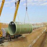 Transport composé de l'eau de pipe de plastique renforcé par fibre de verre de pipe de GRP FRP
