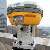 Les constructions étudient ou des enquêtes de construction avec la base et la boudineuse de Rtk GPS de Salut-Cible de V30 Gnss GPS Rtk