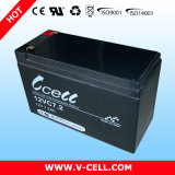 Battery Emergency, AGM Maintenance Free Rechargeablae Lead Acid Battery 12V7.2ah