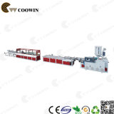 Large épaisseur WPC PVC Foam Board Ligne de production Extruder Single Screw / Twin Screw