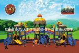 子供の屋外の運動場のプラスチックスライド装置HD-Tse003