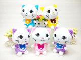 Giocattolo della peluche del gatto degli animali del giocattolo farcito animale domestico molle del giocattolo dei capretti