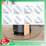 vetro Tempered di vetro 10mm dei piatti di pavimento di 6mm 8mm per i rilievi della stufa