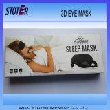 Máscara de ojo calificada del sueño de la espuma 3D de la memoria de la buena calidad