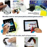 Panno di pulizia degli occhiali da sole di Microfiber