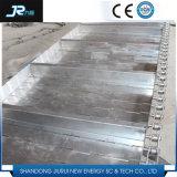 Bande de conveyeur de rotation de plaque à chaînes de 180 degrés
