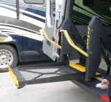 [س] شهادة كرسيّ ذو عجلات مصعد لأنّ [فن] و [مينيبوس] مع [لوأدينغ كبستي] [350كغ]