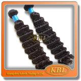 Lockiges Weft Virgin Remy des Brasilianers Hair