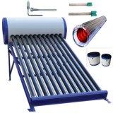 Het Systeem van de Verwarmer van het Water van de Zonne-energie (ZonneCollector)