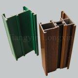 Perfil de madeira do alumínio da cópia/o de alumínio para a janela de deslizamento