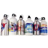 botella de agua de aluminio del deporte de la sublimación del matraz de vacío de 400ml 600ml