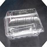 Plastic transparente Food Box com Logo Printed