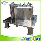 Centrifugeuse de sédimentation en plaques plates en acier inoxydable de 1500 tr / min