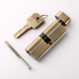 europeo Style Single Key Cylinder di 80mm con Thumbturn