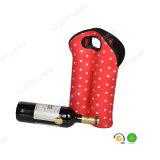 Sostenedor superior del refrigerador de la botella de vino del neopreno de la venta 2-Pack con el SGS para la comida campestre