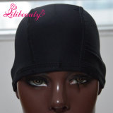 Black 1PCS Unisex Stocking Wig Liner Cap Nylon Stretch Bump respirant