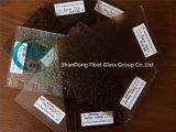 세륨, ISO (3-8mm)를 가진 청동색 식물상 장식무늬가 든 유리 제품