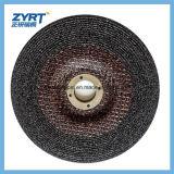 Disco di molatura abrasivo nero di acutezza per metallo