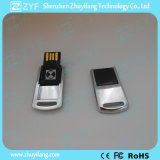 Mini twist Metal USB Flash drive with logo (ZYF1742)