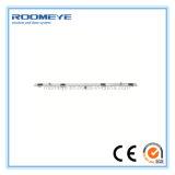 Porta deslizante de vidro dobro de alumínio da prova do som do projeto moderno de Roomeye