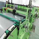 Bobina de aço que corta a linha máquina para Recoiling de corte desenrolando-se