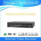 64チャネル2u 16poe 4k&H. 265プロHD Dahua NVR (NVR5864-16P-4KS2)
