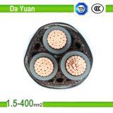 10 mm de alto rendimiento Tres almas de los cables de alimentación de cobre