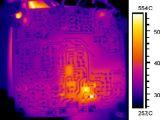 Videocamera di sicurezza di rilevazione di temperatura dello scanner