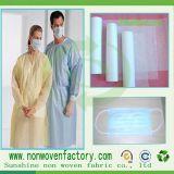 100% de polipropileno médicos desechables de bajo precio ropa