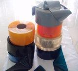 Stevige Grijze Plastic Gordijnen