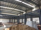 Qingdao Lingshan acero de construcción blanco fábrica y almacén