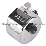 Le chrome a enduit le compteur Clicker (EH0638) de comptage de main en métal