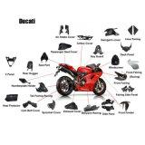 Motociclo della fibra del carbonio per Ducati 1098 1198 848