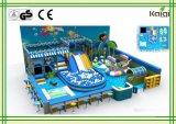 販売またはシートのショッピングモールの/Kidsの柔らかい演劇の屋内運動場の屋内海の運動場のためのKaiqi水屋内運動場