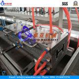 Machine de fabrication de plaques composée en plastique en bois de panneau de profil/machine d'extrudeuse