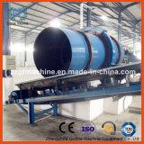Fertilizante do sulfato que granula o equipamento completo