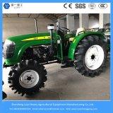 Chinesischer landwirtschaftlicher Gerät 55HP 4WD Rad-Art Bauernhof/Garten/Minilandwirtschaft-Traktor