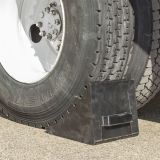 Road Safety Truck / Car Wheel Chock para evitar deslizamento