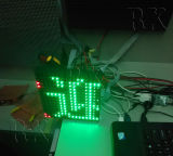 Programable LED muestra móvil del Módulo de pantalla LED de visualización de mensajes