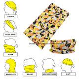Kundenspezifischer Drucken-Paisley-im Freiensportnahtloser Multifunktionsbandana Headwear