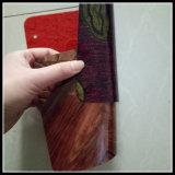 De houten Bevloering van pvc van de Kleur niet Geweven