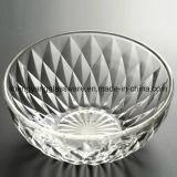 좋은 품질 부엌 가구를 위한 투명한 유리 그릇 또는 사라다 그릇 또는 과일 그릇