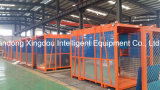 Bouw Hoist Lift voor Building met MID Speed Capacity 1000kg Double of Single Cage