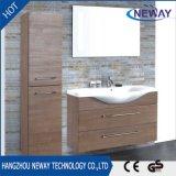 Nouveau meuble de salle de bain en mélamine mur avec miroir