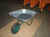 Única roda/carrinho de mão de roda dobro
