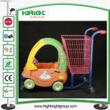 Chariot à caddie de poussette de bébé d'enfants de chevreaux